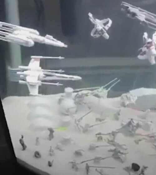 звёздные войны в аквариуме