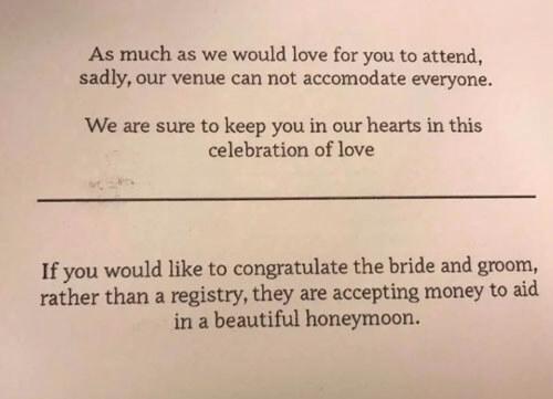деньги от свадебных гостей