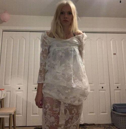заказанное свадебное платье