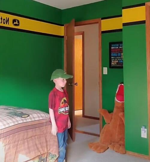 новый дизайн в комнате сына