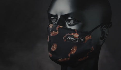 маска с запахом бекона