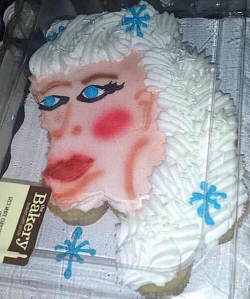 принцесса эльза на торте