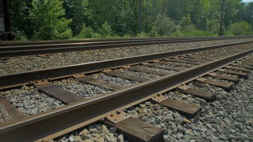фото на железнодорожных путях