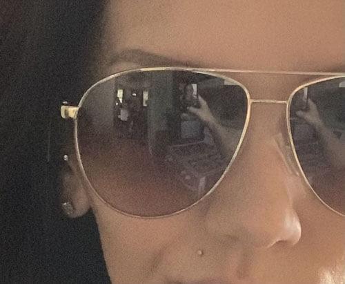 привидения отразились в очках