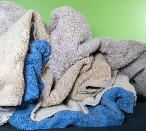 как правильно складывать полотенца