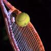 теннисная ракетка с порошком
