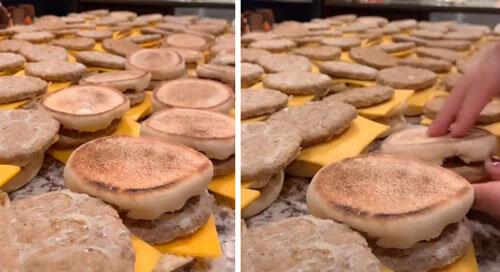 сотня бутербродов за раз