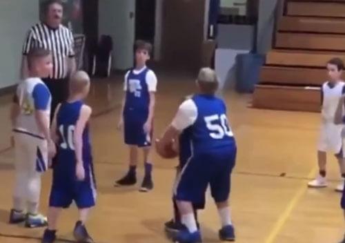 помощь при баскетбольном броске