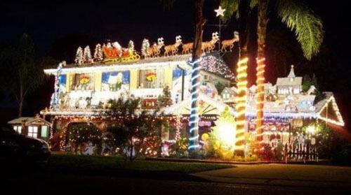 рождество без украшения дома