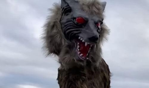 роботы-волки защищают город