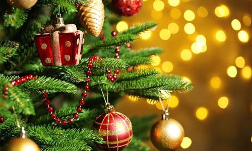 рождественская ёлка без верхушки
