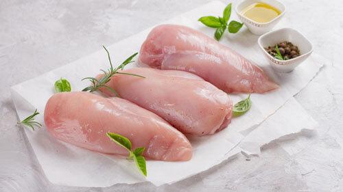 оригинальное блюдо из курицы