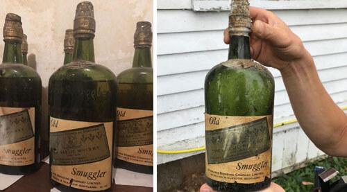 старый виски спрятан в доме