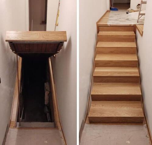 тайная комната под лестницей