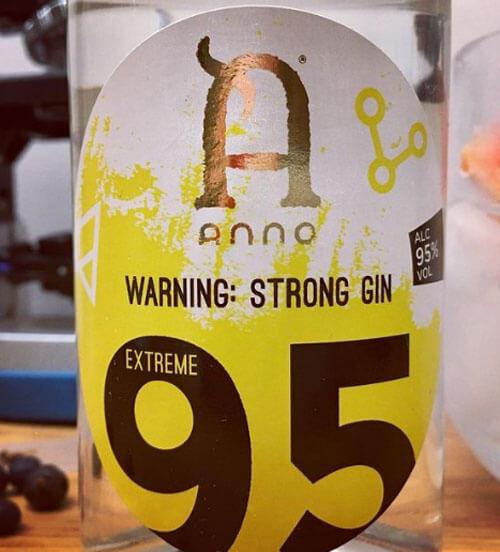 самый крепкий джин в мире