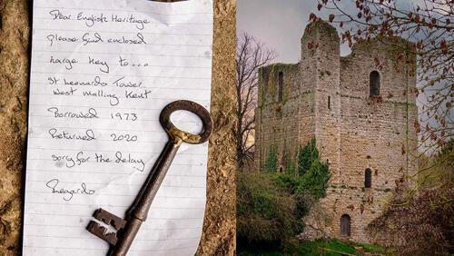 ключ от старой башни