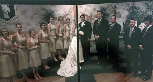 невеста осталась без лица на фото