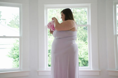 сестра невесты с лишним весом