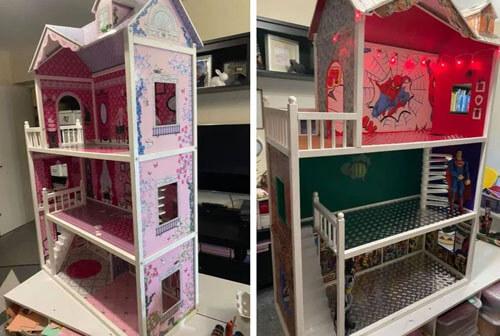кукольный домик для мальчика