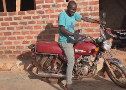 мотоцикл в подарок для работника