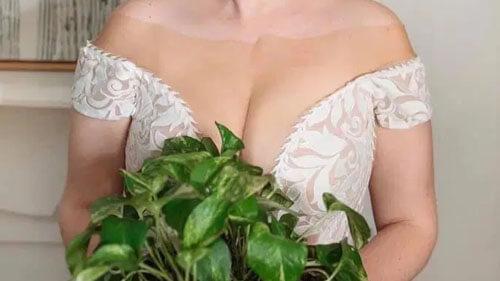 невеста в странном платье