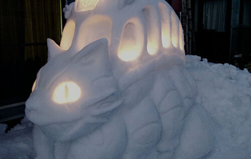 лепка умопомрачительных снеговиков