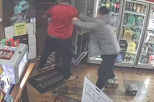 преступники украли алкоголь