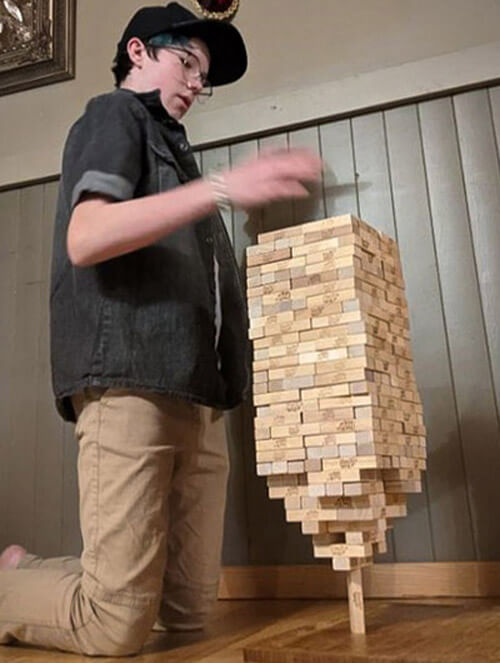 рекорд с чудом балансировки