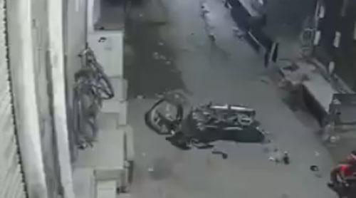 призрак чуть не угнал мотоцикл