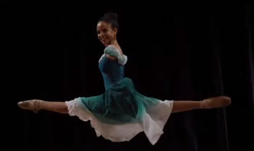 девушка без рук увлекается балетом