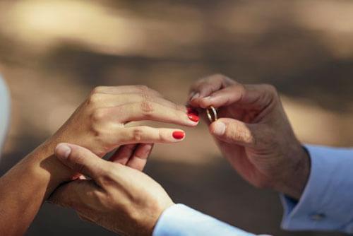 предложение с украденным кольцом