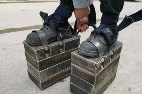 тренировки в железных ботинках