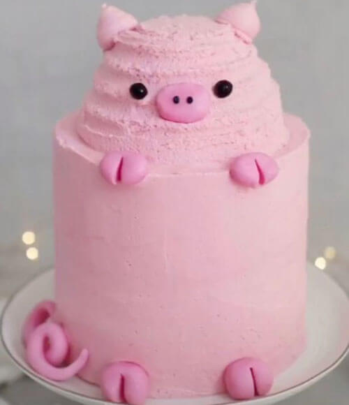 торт заказанный у подруги