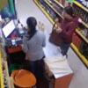 продавщица во время землетрясения