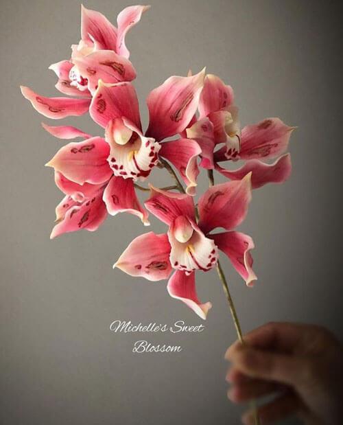 сахарные цветы художницы