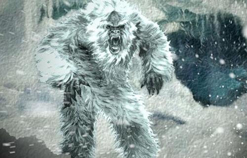 объявление о снежном человеке