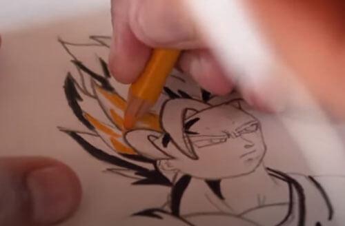 подросток-аутист продаёт рисунки
