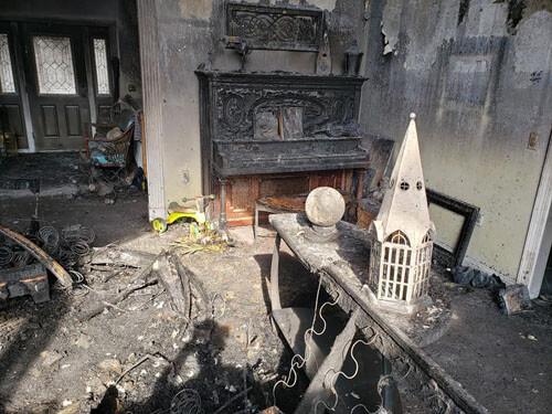 пожар из-за хрустального шара