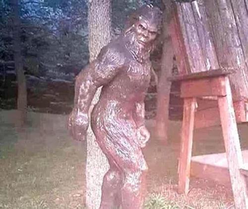 похищенная статуя бигфута