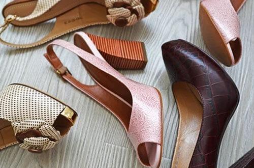 впечатляющая коллекция обуви