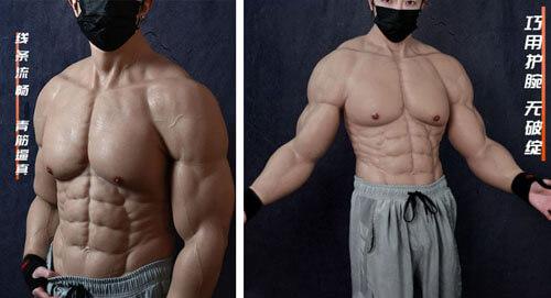 идеальное мускулистое тело