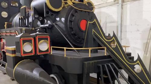 паровоз из известного фильма