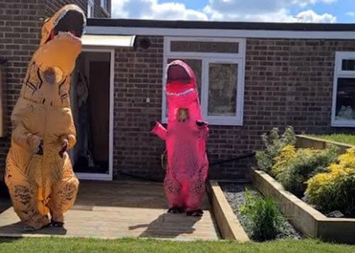 долгожданная встреча с динозаврами