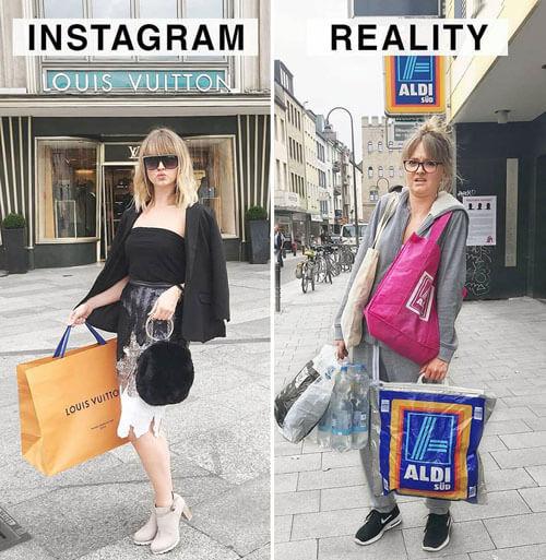 честные фотографии в соцсетях