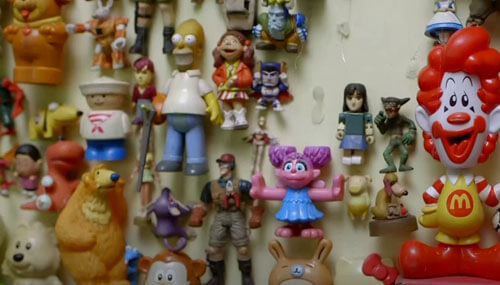 коллекция игрушек удвоилась