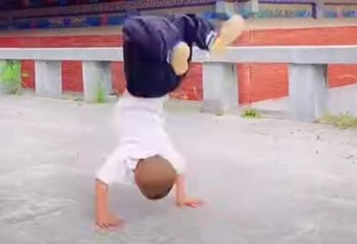маленький мастер боевых искусств