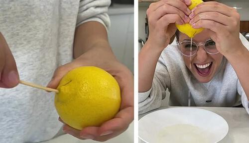 лимонный сок без косточек