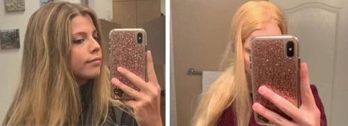 уродливые испорченные волосы