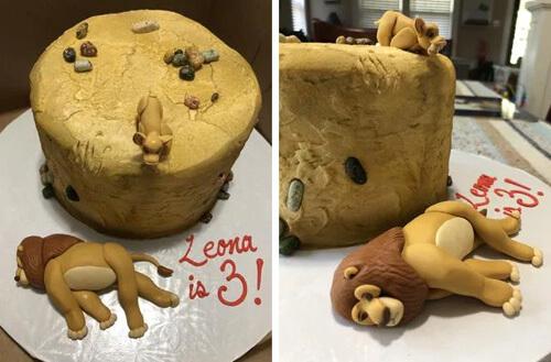 жестокий торт для именинницы