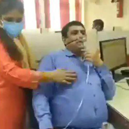 сотрудник банка после вируса